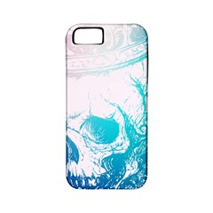 Skull King Colors Apple Iphone 5 Classic Hardshell Case (pc+silicone) by TheTalkingDead