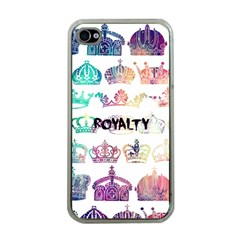 royalty Apple iPhone 4 Case (Clear) by TheTalkingDead
