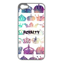 Royalty Apple Iphone 5 Case (silver) by TheTalkingDead