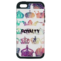 royalty Apple iPhone 5 Hardshell Case (PC+Silicone) by TheTalkingDead
