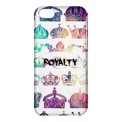 royalty Apple iPhone 5C Hardshell Case by TheTalkingDead