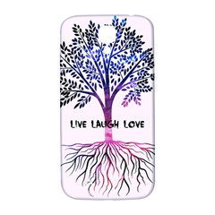 Tree Of Live Laugh Love  Samsung Galaxy S4 I9500/i9505  Hardshell Back Case by TheTalkingDead