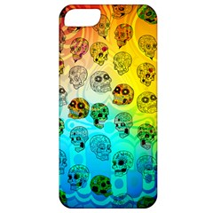 Sugary Skulls Apple Iphone 5 Classic Hardshell Case by TheTalkingDead