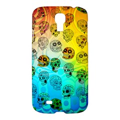 Sugary Skulls Samsung Galaxy S4 I9500/i9505 Hardshell Case by TheTalkingDead