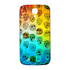 Sugary Skulls Samsung Galaxy S4 I9500/i9505  Hardshell Back Case by TheTalkingDead