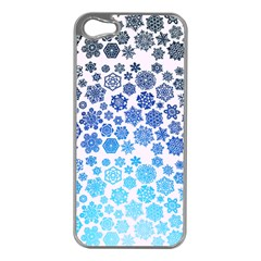 Let It Snow Apple Iphone 5 Case (silver) by TheTalkingDead
