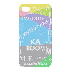oh write Apple iPhone 4/4S Hardshell Case by Contest1719785