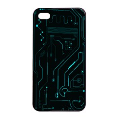 Circuit Board Apple iPhone 4/4s Seamless Case (Black) by TheTalkingDead