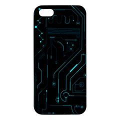 Circuit Board Iphone 5 Premium Hardshell Case by TheTalkingDead