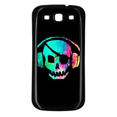 Pirate Music Samsung Galaxy S3 Back Case (Black) by TheTalkingDead