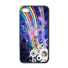Dream In Colors Apple Iphone 4 Case (black) by TheTalkingDead