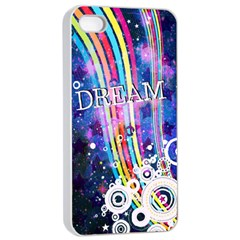 Dream In Colors Apple Iphone 4/4s Seamless Case (white) by TheTalkingDead