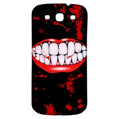 The Phone With Bite Samsung Galaxy S3 S Iii Classic Hardshell Back Case by TheTalkingDead