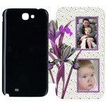 Iris Samsung Galaxy Note 2 Flip cover Case