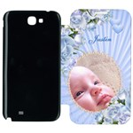 Boy Samsung Galaxy Note 2 Flip cover Case