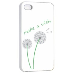 Make A Wish Apple Iphone 4/4s Seamless Case (white) by TheTalkingDead