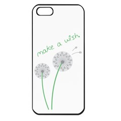 Make A Wish Apple Iphone 5 Seamless Case (black) by TheTalkingDead