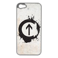 Above The Influence Apple Iphone 5 Case (silver) by Contest1775858