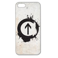 Above the Influence Apple Seamless iPhone 5 Case (Clear) by Contest1775858