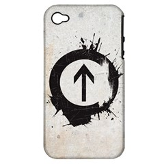 Above The Influence Apple Iphone 4/4s Hardshell Case (pc+silicone) by Contest1775858