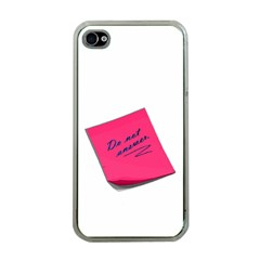 Post It Apple Iphone 4 Case (clear) by Contest1719785