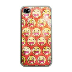 Epic Face Apple Iphone 4 Case (clear) by Contest1775858