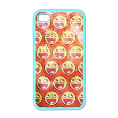 Epic Face Apple Iphone 4 Case (color) by Contest1775858