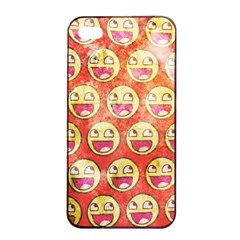 Epic Face Apple Iphone 4/4s Seamless Case (black) by Contest1775858