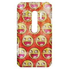 Epic Face HTC Evo 3D Hardshell Case  by Contest1775858