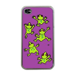 Sticky Things Apple Iphone 4 Case (clear) by Contest1760572