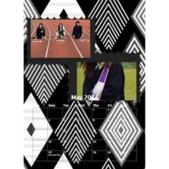 Calendar By C1   Desktop Calendar 6  X 8 5    Ltz759cgtm6d   Www Artscow Com May 2014