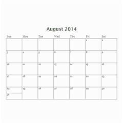 Calendar By C1   Wall Calendar 8 5  X 6    Qcvkz5g70y4g   Www Artscow Com Aug 2014