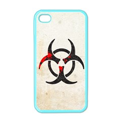 Biohazard Symbol Apple Iphone 4 Case (color) by Contest1775858