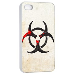 Biohazard Symbol Apple Iphone 4/4s Seamless Case (white) by Contest1775858