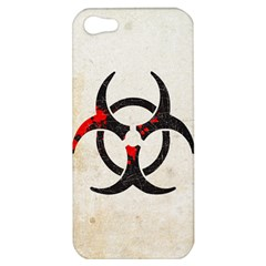 Biohazard Symbol Apple Iphone 5 Hardshell Case by Contest1775858