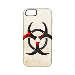 Biohazard Symbol Apple Iphone 5 Classic Hardshell Case (pc+silicone) by Contest1775858