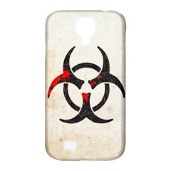 Biohazard Symbol Samsung Galaxy S4 Classic Hardshell Case (pc+silicone) by Contest1775858