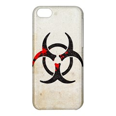 Biohazard Symbol Apple iPhone 5C Hardshell Case by Contest1775858
