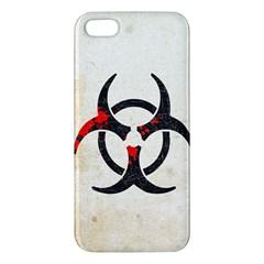 Biohazard Symbol Iphone 5s Premium Hardshell Case by Contest1775858
