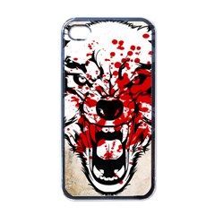 Blood Wolf Apple Iphone 4 Case (black) by Contest1775858