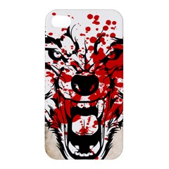 Blood Wolf Apple Iphone 4/4s Hardshell Case by Contest1775858