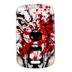 Blood Wolf BlackBerry Bold Touch 9900 9930 Hardshell Case  by Contest1775858