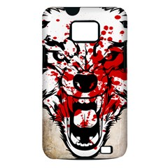 Blood Wolf Samsung Galaxy S II Hardshell Case (PC+Silicone) by Contest1775858