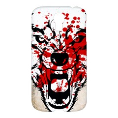 Blood Wolf Samsung Galaxy S4 I9500/i9505 Hardshell Case by Contest1775858