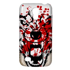 Blood Wolf Samsung Galaxy S4 Mini Hardshell Case  by Contest1775858