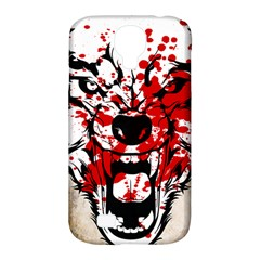 Blood Wolf Samsung Galaxy S4 Classic Hardshell Case (pc+silicone) by Contest1775858