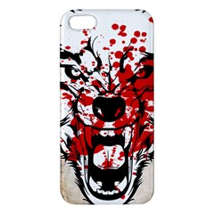 Blood Wolf Iphone 5s Premium Hardshell Case by Contest1775858