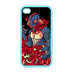 Creature Apple Iphone 4 Case (color) by Contest1775858