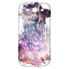 Cosmic Owl Samsung Galaxy S3 S Iii Classic Hardshell Back Case by Contest1775858