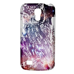 Cosmic Owl Samsung Galaxy S4 Mini Hardshell Case  by Contest1775858